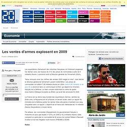Les ventes d'armes explosent en 2009 - France - E24.fr