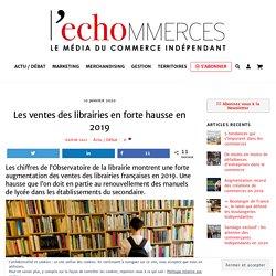 Les ventes des librairies en forte hausse en 2019 - L'echommerces