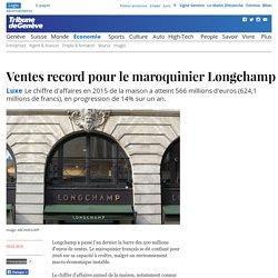 Luxe: Ventes record pour le maroquinier Longchamp