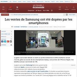 Les ventes de Samsung ont été dopées par les smartphones