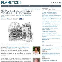 The Wind Eyes: Designing for Natural Ventilation in Multi-Family Buildings