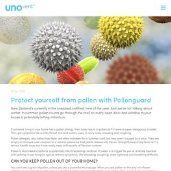 Protect yourself from pollen with Pollenguard