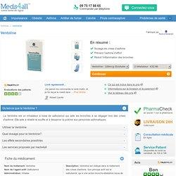 Ventoline - Inhalateur pour l'asthme - meds4all