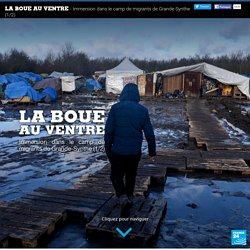 La boue au ventre, immersion dans le camp de migrants, de Grande-Synthe, dans le nord de la France