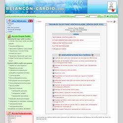 Troubles du rythme ventriculaire (Sémiologie ECG)