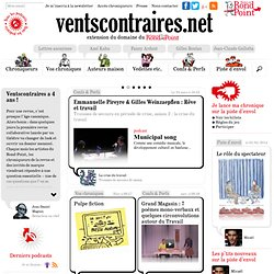 Ventscontraires.net, la revue collaborative du Rond-Point