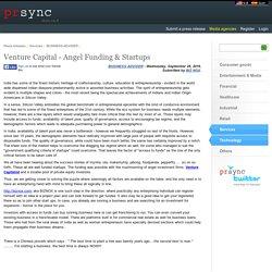 Venture Capital - Angel Funding & Startups