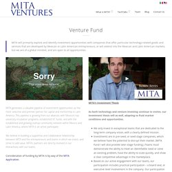MITA Venture Fund