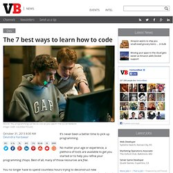 The 7 best ways to learn how to code