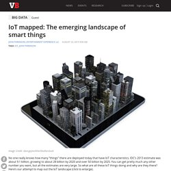 IoT mapped: The emerging landscape of smart things