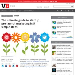 The ultimate guide to startup pre-launch marketing in 5 simple steps