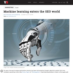 Machine learning enters the SEO world