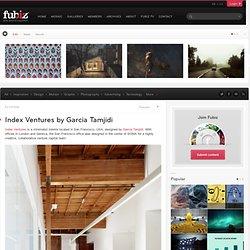 Index Ventures by Garcia Tamjidi