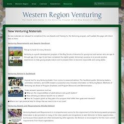 New Venturing Materials - Western Region Venturing
