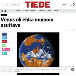 Venus oli ehkä muinoin asuttava