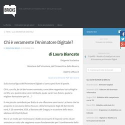 Chi è veramente l'Animatore Digitale? – BRICKS