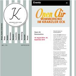 Veranstaltungen : KRANZLER ECK