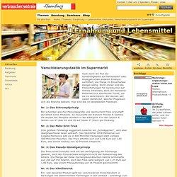 - Verschleierungstaktik im Supermarkt