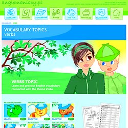 Verbs Topic for ESL Kids