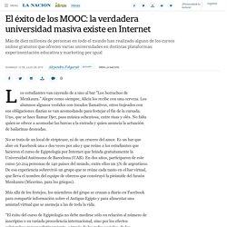 El éxito de los MOOC: la verdadera universidad masiva existe en Internet - 12.07.2015