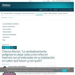 """Chema Alonso: """"Lo verdaderamente peligroso es dejar solos a los niños en Internet con el ordenador en su habitación, sin saber qué hacen y con quién"""""""