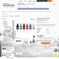 Joyetech Cubis PRO Verdampfer 4,0 ml - eDampf-Shop GmbH & Co. KG