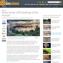 Mesa Verde: Cliff Dwellings of the Anasazi