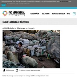 Verdensmålene - for bæredygtig udvikling