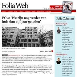 FGw: 'We zijn nog verder van huis dan vijf jaar geleden'