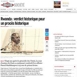 Rwanda : verdict historique pour un procès historique