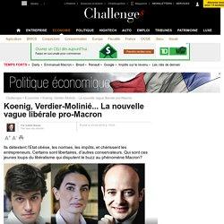 Koenig, Verdier-Molinié... La nouvelle vague libérale pro-Macron