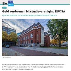 Geld verdwenen bij studievereniging EUCSA