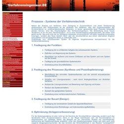 Verfahrenstechnische Prozesse und Systeme