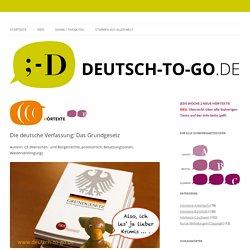 Die deutsche Verfassung: Das Grundgesetz