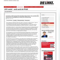 Vorstudie zur NS-Vergangenheit ehemaliger Abgeordneter: Ein erschütterndes Dokument der Verdrängung von Schuld und Verantwortung