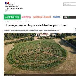 Un verger en cercle pour réduire les pesticides