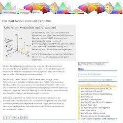 Lab: Farben vergleichen und Farbabstand