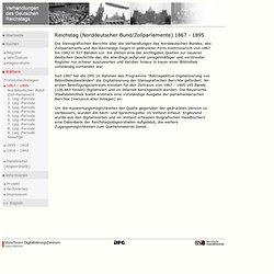 Verhandlungen des Deutschen Reichstags