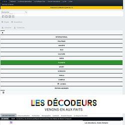 Le Décodex, un premier pas vers la vérification de masse de l'information