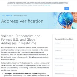 mailing address verification service