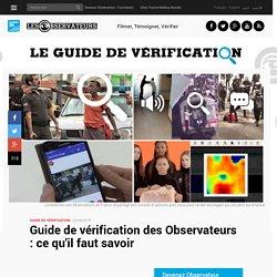 Guide de vérification des Observateurs : ce qu'il faut savoir