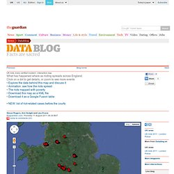 UK riots: every verified incident - interactive map | News