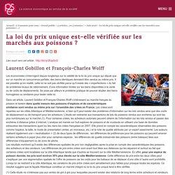 La loi du prix unique est-elle vérifiée sur les marchés aux poissons ? - PSE-Ecole d'économie de Paris