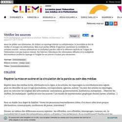 Vérifier les sources- CLEMI