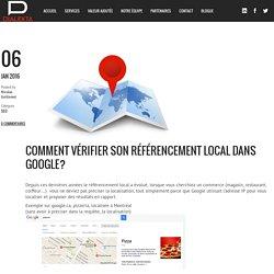 Comment vérifier son référencement local dans Google? - Dialekta