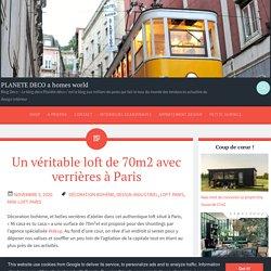Un véritable loft de 70m2 avec verrières à Paris
