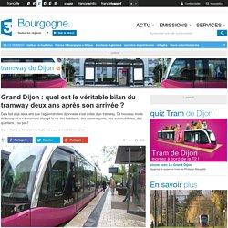 Grand Dijon : quel est le véritable bilan du tramway deux ans après son arrivée ? - France 3 Bourgogne