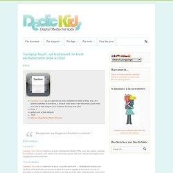 Daedalus Touch : un traitement de texte véritablement dédié à l'iPad