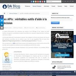 Les APIs : véritables outils d'aide à la décision - Digital Analytics Blog - AT Internet