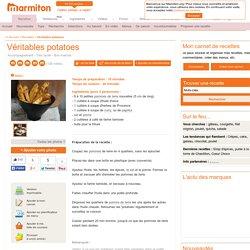 Véritables potatoes : Recette de Véritables potatoes